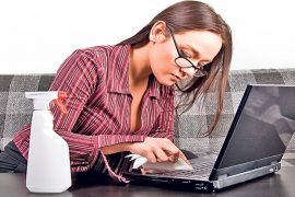 Cum sa iti pastrezi laptopul curat?