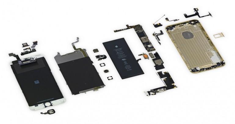 Dezasamblarea unui iPhone 6s si secretele de la interior