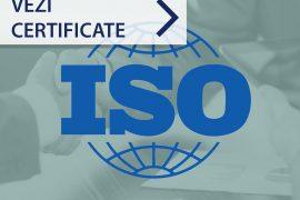 Ce anume este certificat de ISO si de ce conteaza ISO?