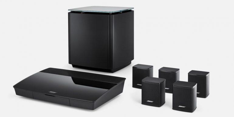 Cum sa amplasati si sa reglati un sistem audio home cinema surround 5.1 Bose Lifestyle 550?